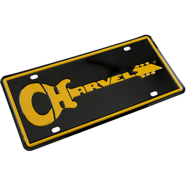 View larger image of Charvel Guitar Logo License Plate