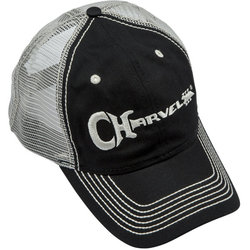 Charvel Trucker Hat - Black/White