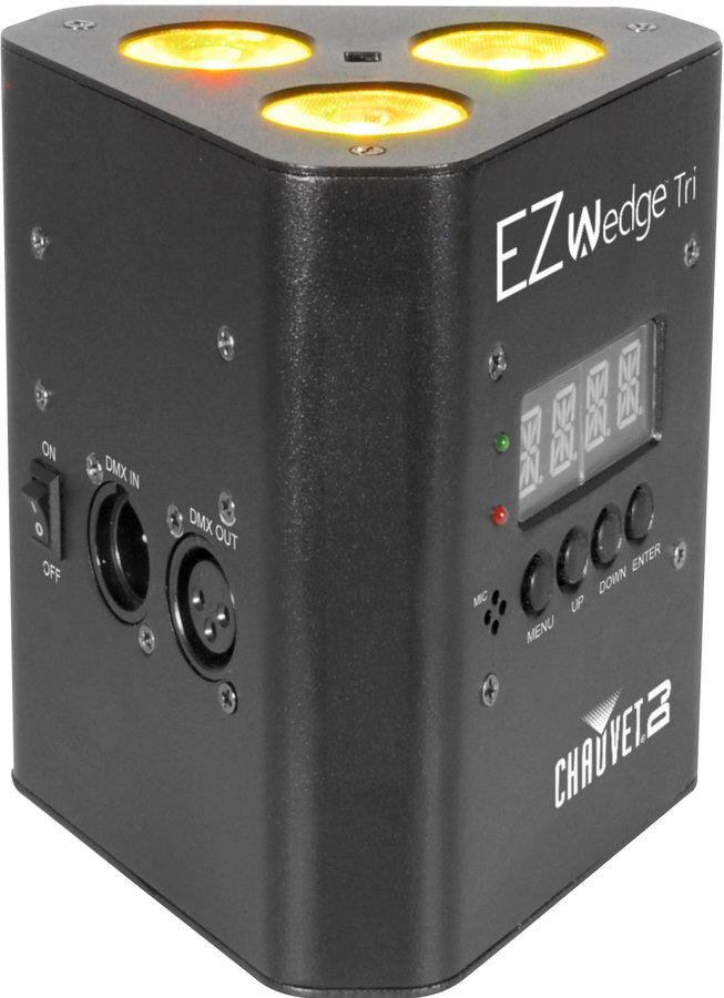 View larger image of Chauvet EZwedge Tri Wireless LED Wash Light