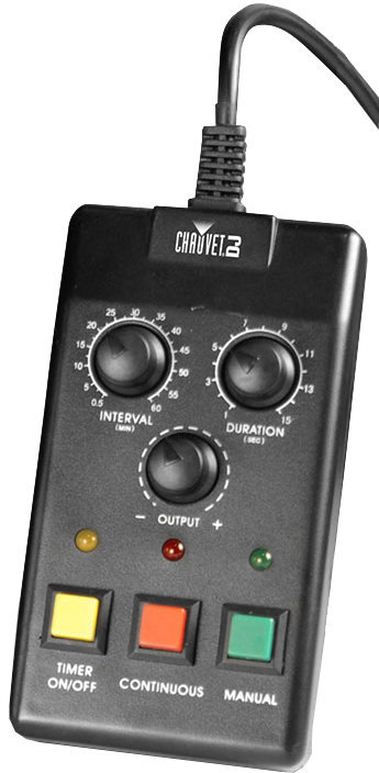 View larger image of Chauvet FC-T Wired Timer Remote Control for Fog Machines