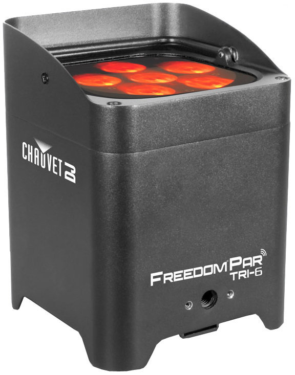 View larger image of Chauvet Freedom Par Tri-6 Wireless RGB LED Wash Light
