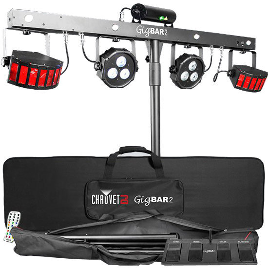 View larger image of Chauvet GigBAR 2 4-in-1 Lighting System