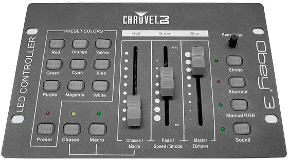 View larger image of Chauvet Obey 3 DMX Controller