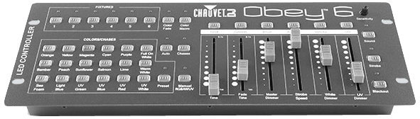 View larger image of Chauvet Obey 6 DMX Light Controller
