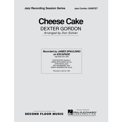 Cheesecake - Score & Parts, Medium Easy