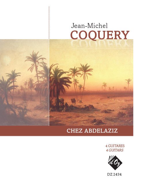 View larger image of Chez Abdelaziz (Coquery) - Guitar Quartet