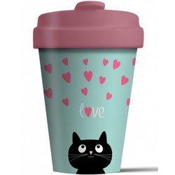 Chic Mic Kitty Love Bamboo Cup