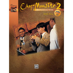 Chop-Monster Book 2 with CD - Alto Saxophone