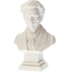 Chopin Bust - Small, 4-1/2