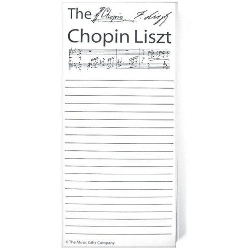View larger image of Chopin Liszt Notepad