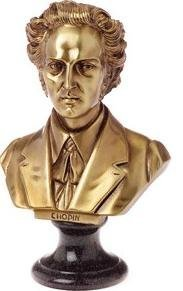 View larger image of Chopin Sculpture - Bronze, Large