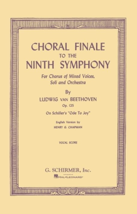 View larger image of Choral Finale to the Ninth Symphony (SATB) - Vocal Score