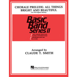 Chorale All Things Bright and Beautiful - Score & Parts, Grade 2