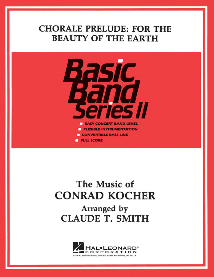 View larger image of Chorale: For the Beauty of the Earth - Score & Parts, Grade 2