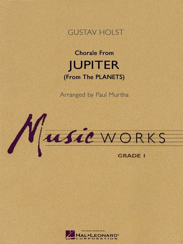 View larger image of Chorale from Jupiter (The Planets) - Score, Grade 1.5