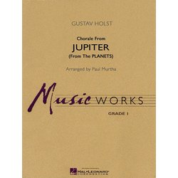 Chorale from Jupiter (The Planets) - Score, Grade 1.5