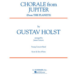 Chorale from Jupiter (The Planets) - Score & Parts, Grade 2