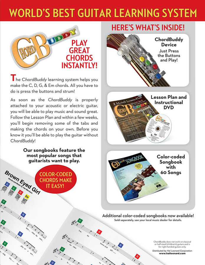 View larger image of ChordBuddy Learning System