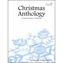 Christmas Anthology (24 Duets For Grade 3-4 Musicians) - Woodwind Duet (Flute/Clarinet)