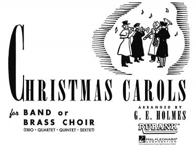 View larger image of Christmas Carols for Band or Brass Choir - Clarinet 2