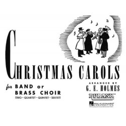 Christmas Carols for Band or Brass Choir - Clarinet 2