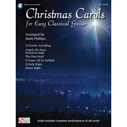 Christmas Carols for Easy Classical Guitar w/Online Audio
