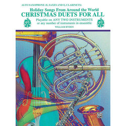 Christmas Duets for All - Alto Sax/Eb Clarinet