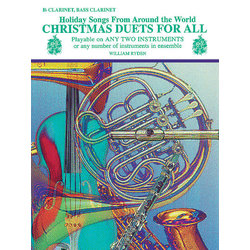 Christmas Duets for All - Clarinet/Bass Clarinet