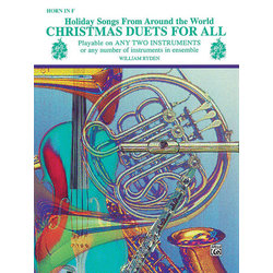 Christmas Duets for All - F Horn