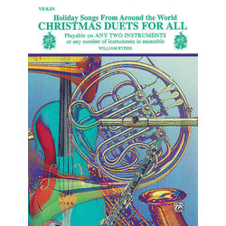 Christmas Duets For All - Violin