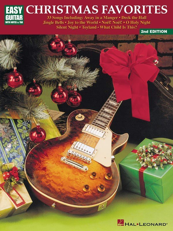 View larger image of Christmas Favorites 2nd Edition - Easy Guitar with Notes & Tab