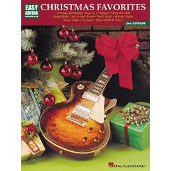 Christmas Favorites 2nd Edition - Easy Guitar with Notes & Tab
