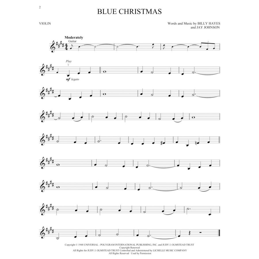View larger image of Christmas Favorites - Violin w/Online Audio