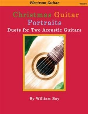 View larger image of Christmas Guitar Portraits - Duets for Two Acoustic Guitars