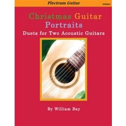 Christmas Guitar Portraits - Duets for Two Acoustic Guitars
