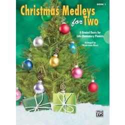 Christmas Medleys for Two, Book 1 (1P4H)