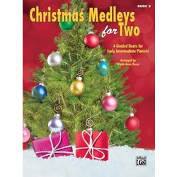 Christmas Medleys for Two, Book 2 (1P4H)