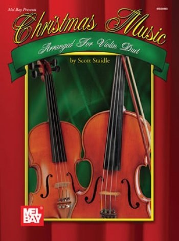 View larger image of Christmas Music Arranged for Violin Duet