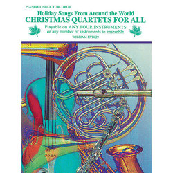 Christmas Quartets for All - Conductor/Piano/Oboe