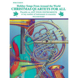 Christmas Quartets for All - Percussion