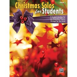 Christmas Solos for Students, Book 1