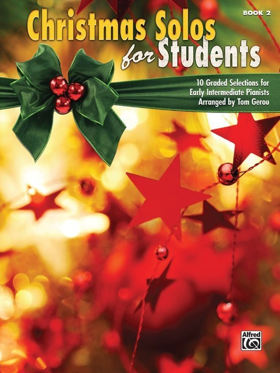 View larger image of Christmas Solos for Students, Book 2