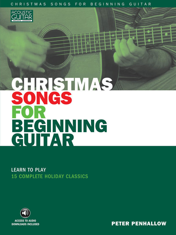 View larger image of Christmas Songs for Beginning Guitar w/Online Audio