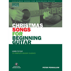 Christmas Songs for Beginning Guitar w/Online Audio
