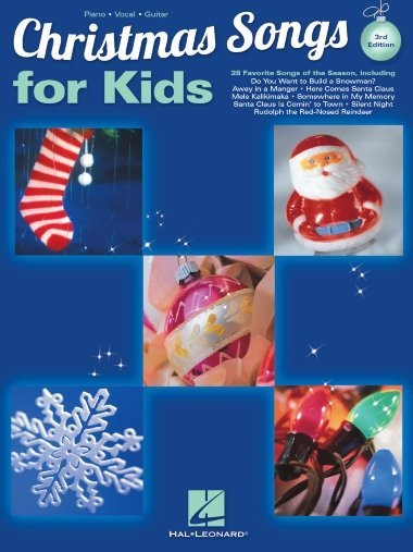 View larger image of Christmas Songs For Kids - 3rd Edition