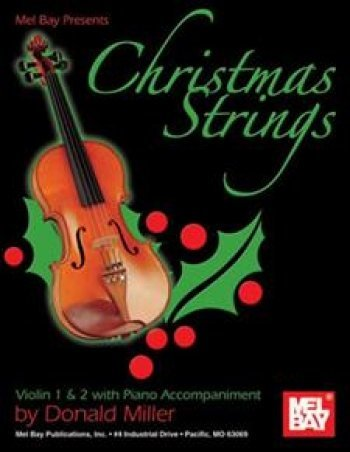 View larger image of Christmas Strings: Violin 1/2 (Book + Insert)