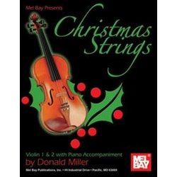 Christmas Strings: Violin 1/2 (Book + Insert)