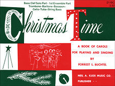 View larger image of Christmas Time - 1st Ensemble Bass Clef Book