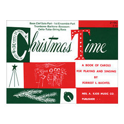 Christmas Time - 1st Ensemble Bass Clef Book