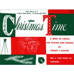 Christmas Time - 1st Ensemble French Horn Book
